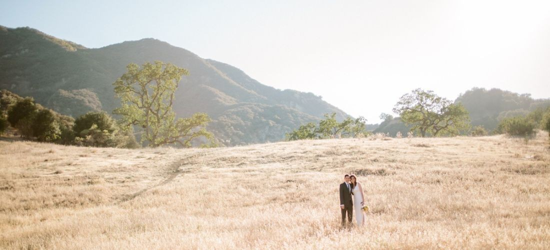 Malibu State Creek Park Wedding Ceremony